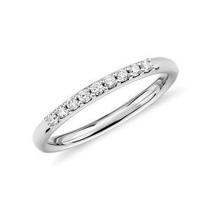 Gold wedding ring for women 0.100 carat
