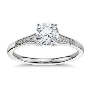 14k Gold ring 0.480 carat