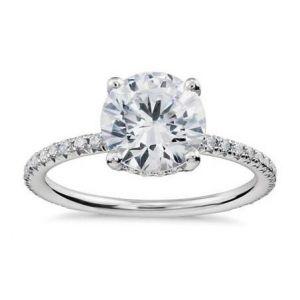 Ladies diamond ring 0.450 carat