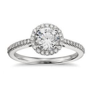 Gold diamond ring 0.500 carat