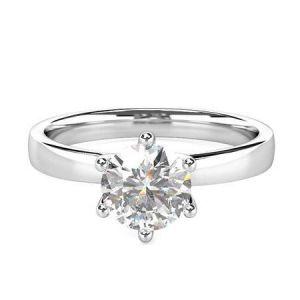 Gold diamond engagement ring 0.500 carat