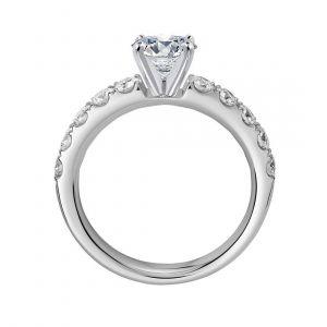 14k Gold diamond ring 0.500 carat