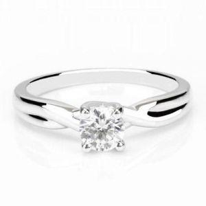 Gold diamond rings for women 1 carat