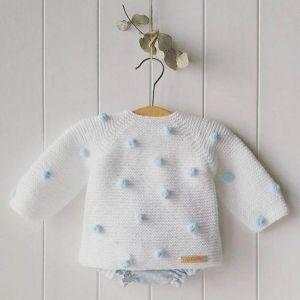 """Infant crochet pullover """"Tenderness"""""""