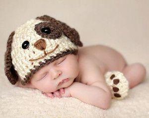 Newborn crochet photo outfit