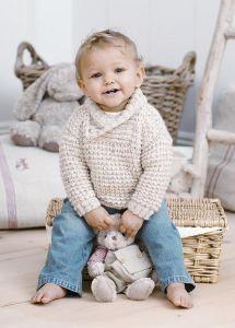 Baby warm woolen sweater
