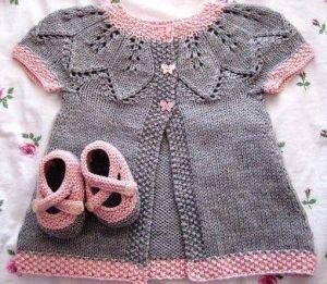 Newborn sweater set Sweetness