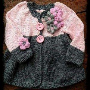 Infant girl cardigan