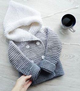 Newborn knit sweater