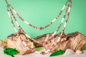 """Bead necklaces """"Rainbow"""""""