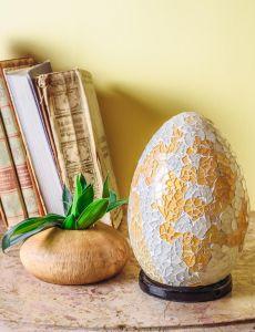 Mosaic egg Lamp