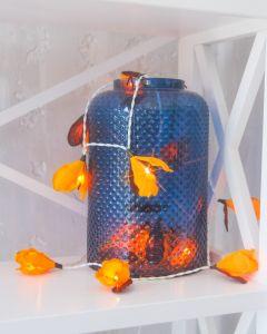 Yellow indoor fairy lanterns