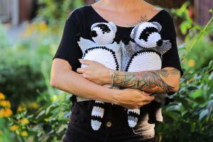 Crochet toy Racoon