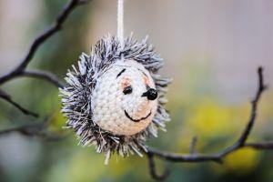 Crochet toy Hedgehog
