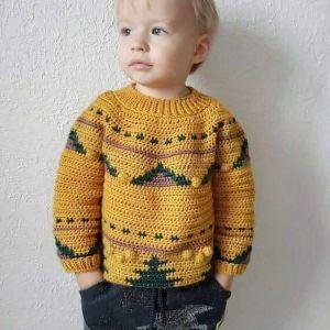 Baby boy winter sweater