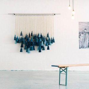 Large tassel hanging décor