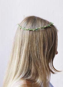 "Fashion headbands ""Green branch"""