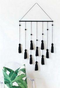 Tassel wall hanging decor