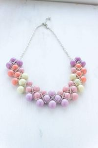 """A necklace of beads """"Candies"""""""