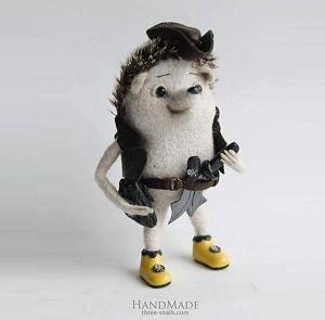 "Author's toy ""Hedgehog pirate"""