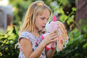 Crochet toy Unicorn