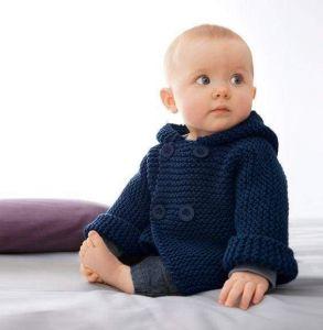 Baby boy winter cardigan