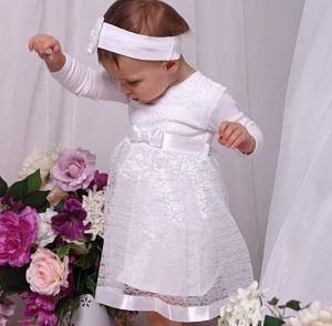 "Baby girl baptism dress ""Holiday"""