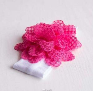 Baby girl pink headband