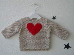 Baby girl pullover