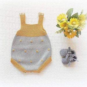 Baby polka dot bodysuit