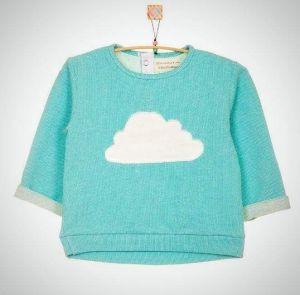 "Baby sweatshirt ""Cloud"""