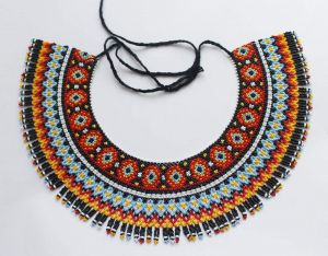 """Beaded necklaces""""Beat"""""""