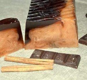Beautiful Handmade Soap «Chocolate i cinnamon»