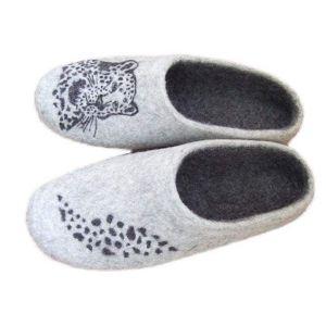 "Best mens slippers ""Leopard"""