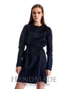 "Black embroidered dress""Black swan"""