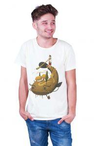 Boy apparel. Man t-shirt «Big fish»
