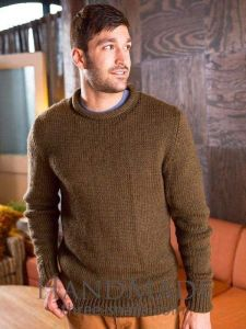 Brown sweater for men