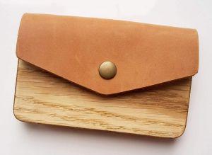 "Business card holder for men ""Envelope"""