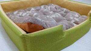 """Cat bed """"Lime"""""""