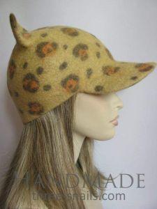 "Cat ear hat ""Jaguar"""