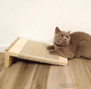 """Cat scratch pad """"Cat kingdom"""""""