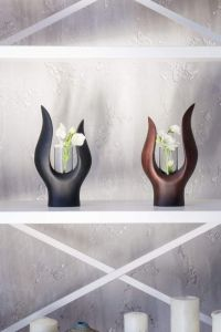 Centrepiece flower vase with glass tube
