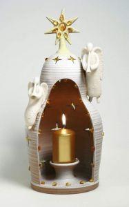 "Ceramic candleholder ""Christmas night"""