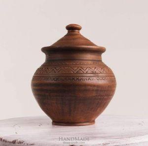 """Ceramic cooking pot """"Trypillia"""""""