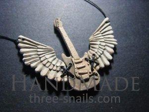 "Ceramic pendant ""Rock'n'roll"""