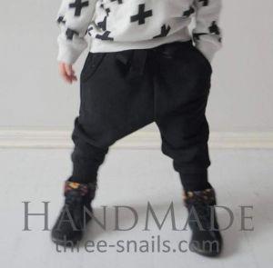 "Childrens pants ""Stylish black"""