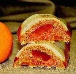 Citrus Soap «Orange with Loofah»