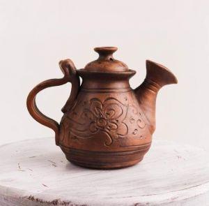 "Clay teapot ""Ceramic taste"""
