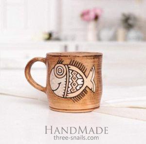 "Coffee mug""Fish"""