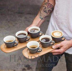 Coffee mug holder set of 2
